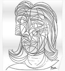 Pablo Picasso Tete de Femme 1939 (Head Of A Woman) T Shirt Poster