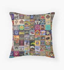 Grateful Dead Album Covers Floor Pillow