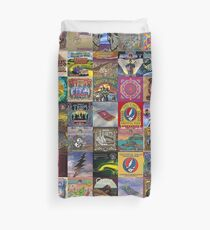 Grateful Dead Album Covers Duvet Cover