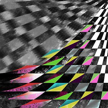 Skewed grid pattern  by ElysiumDesign