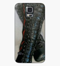 Knee High Combat Boots Case/Skin for Samsung Galaxy