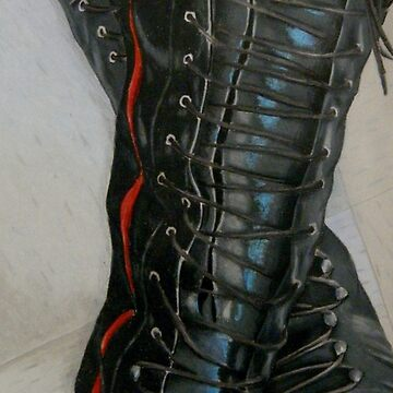 Knee High Combat Boots by BlackCoffeeCake