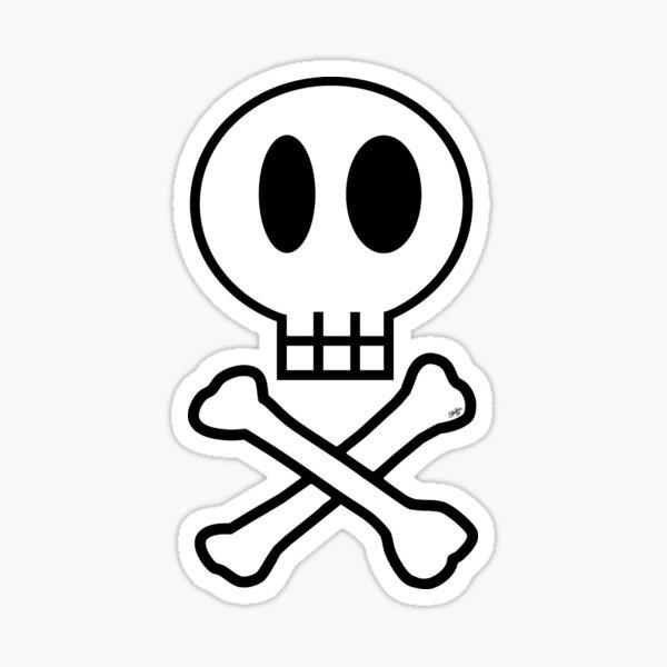 Skully the Skull Sticker