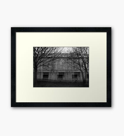 Walk Through Time Framed Print