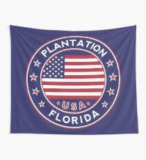 Plantation, Florida Wall Tapestry