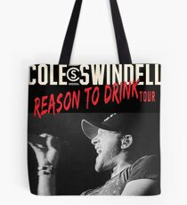 erno Swindell Reason Cole to Drink Tour 2018 Tote Bag