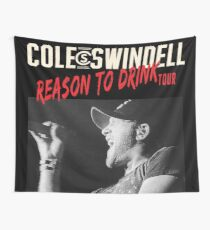 erno Swindell Reason Cole to Drink Tour 2018 Wall Tapestry