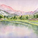 Evolution Valley - JMT, High Sierra, CA by Diane Hall