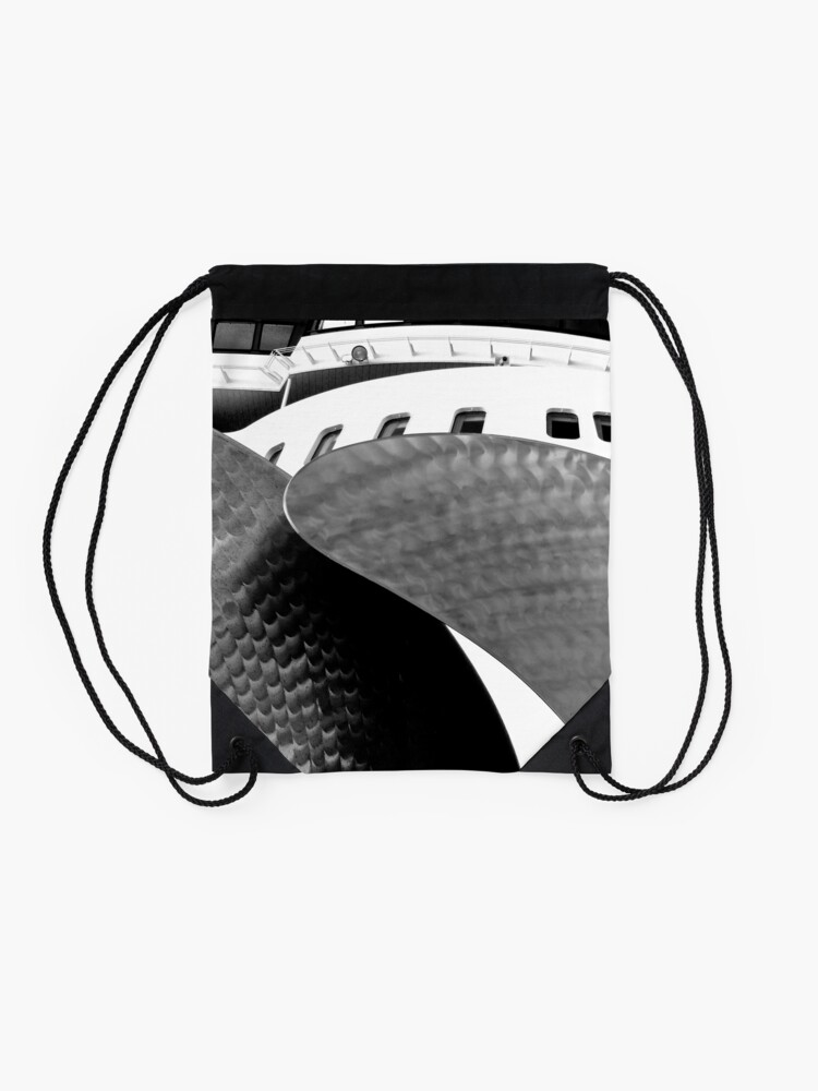 Alternate view of Queen Mary 2 Drawstring Bag