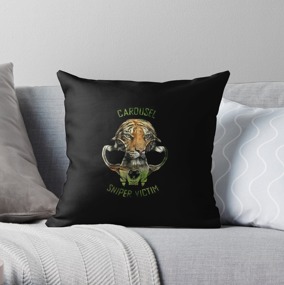 The Zanesville Zoo Massacre Throw Pillow