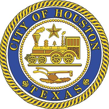 Seal of Houston, Texas by PZAndrews