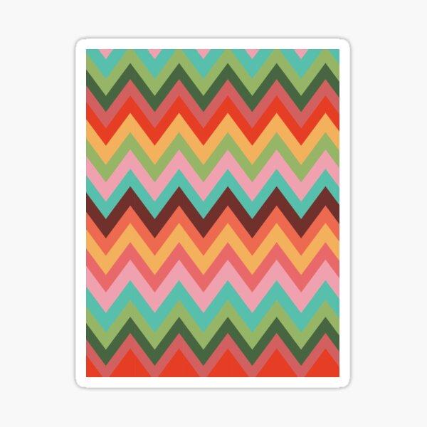 Carly Rae Jepsen E•MO•TION Inspired Chevron Stripes Sticker