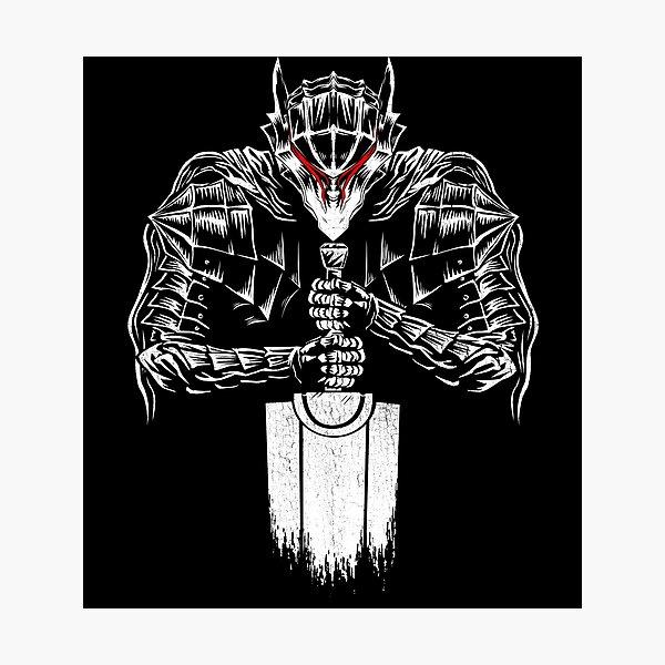 Black Swordsman Photographic Print