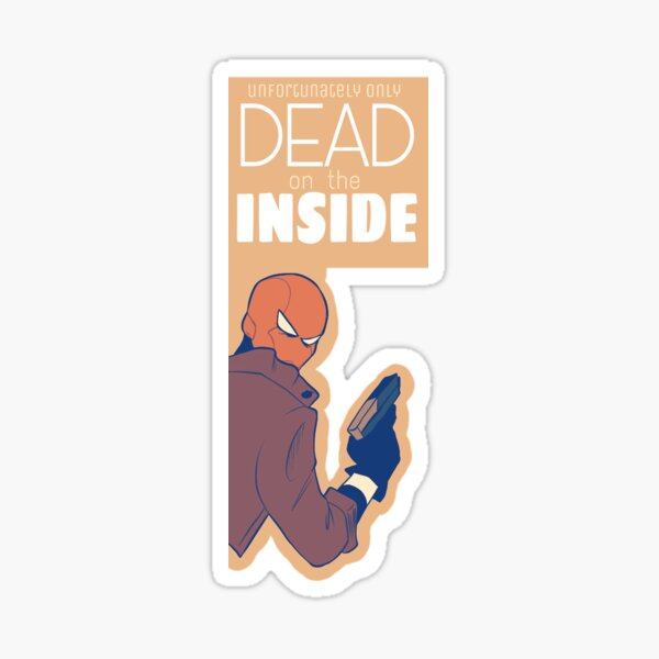 Red Hood Witty One Liners 2 Sticker