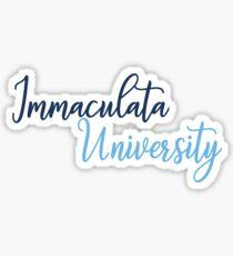 Immaculata University Sticker