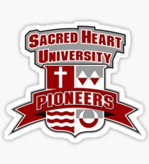 Sacred Heart University Emblem Logo Sticker