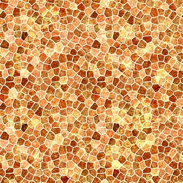 Faux Giraffe Skin Abstract Pattern by taiche