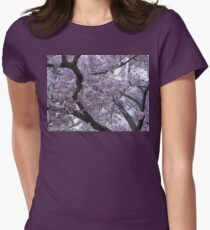 Branches of Blossoms  Women's Fitted T-Shirt