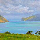 Akaroa Aquamarine by Dai Wynn