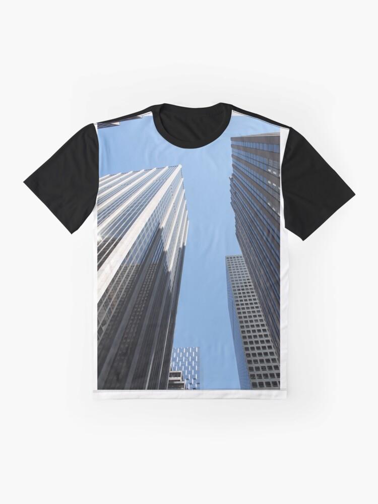 Alternate view of New York, #New, #York, #NewYork, New York City, #NewYorkCity Graphic T-Shirt