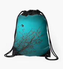 sparrow (002)  Drawstring Bag