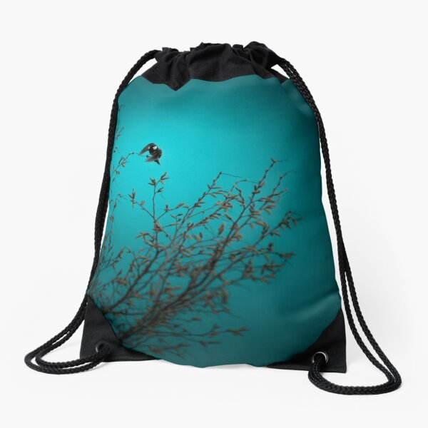 sparrow (002)  Drawstring Bag