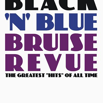 Black 'N' Blue Bruise Revue by StarAdrael