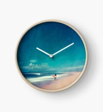 Summer Days - Faire du surf Horloge