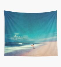 Summer Days - Going Surfing Wall Tapestry