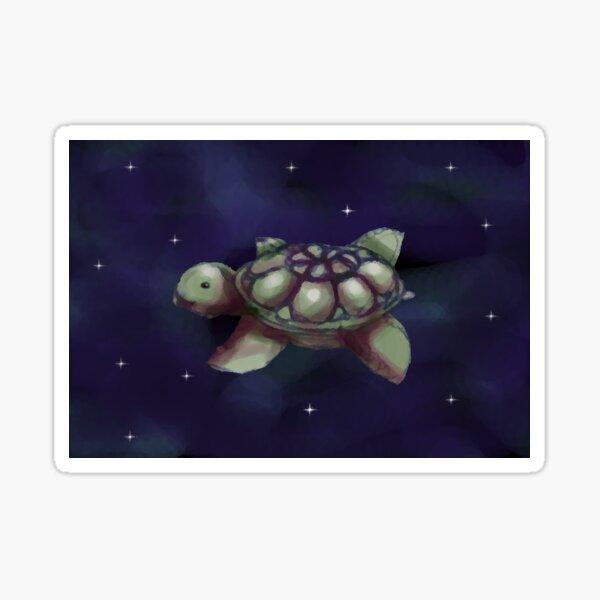 Space Turtle Sticker