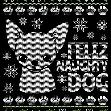 Ugly Christmas Chihuahua Design by EstelleStar