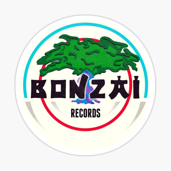 Bonzai Records - Hardcore Sticker