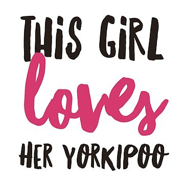 This girl loves her yorkipoo by CharlyB