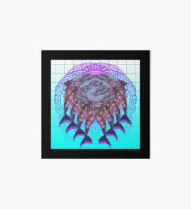 Purple Mandala Collection No 8 Art Board