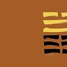 45 Assembling I Ching Hexagram by SpiritStudio