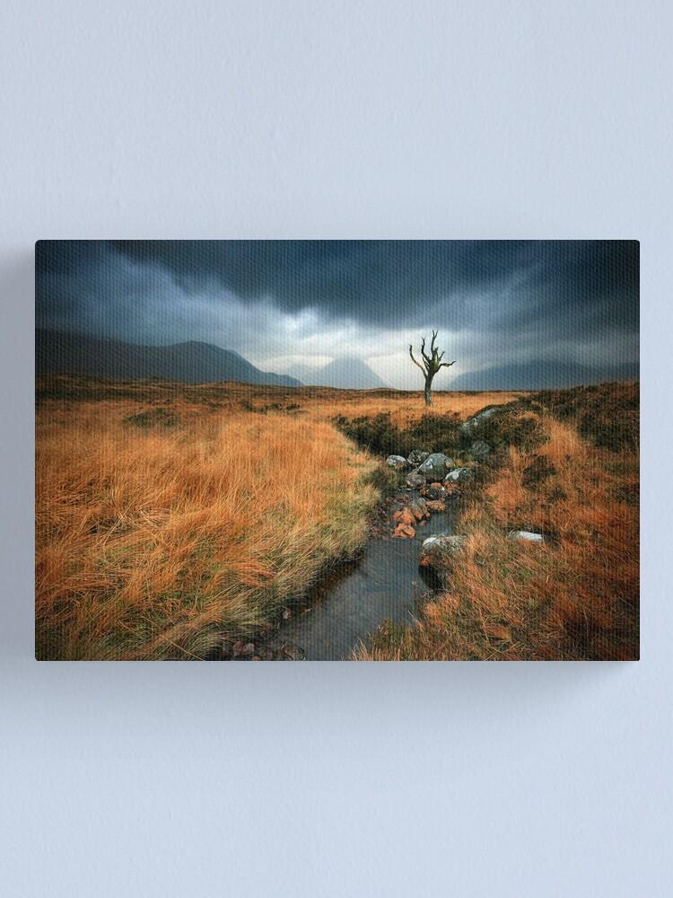 Alternate view of Scotland : Rannoch Moor Canvas Print