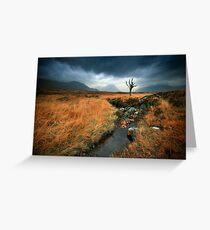 Scotland : Rannoch Moor Greeting Card