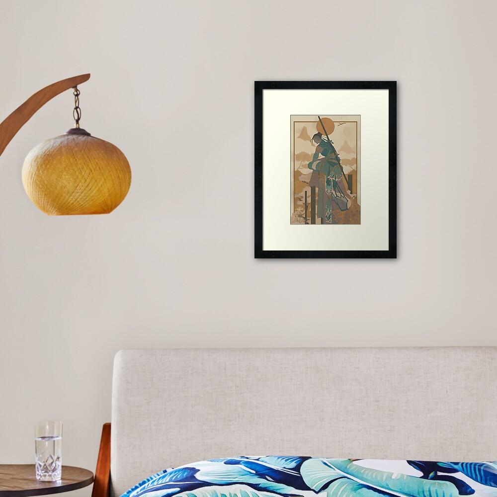 Beauregard 01 Framed Art Print