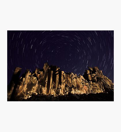 Night at the Cathedral Photographic Print