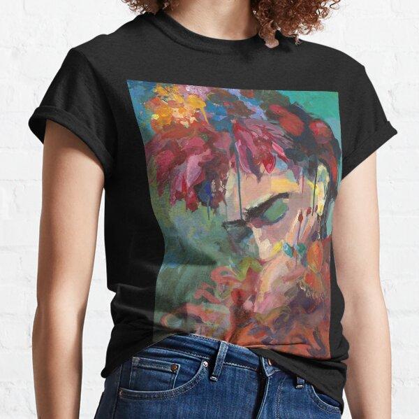 Mit Blumen Classic T-Shirt