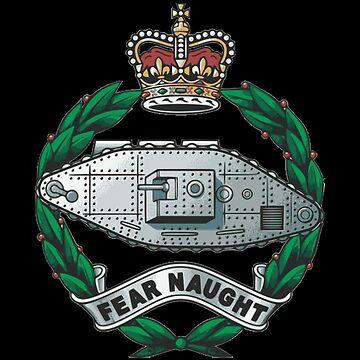 Royal Tank Regiment - British Army by wordwidesymbols
