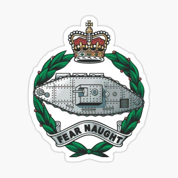 Royal Tank Regiment - British Army Sticker
