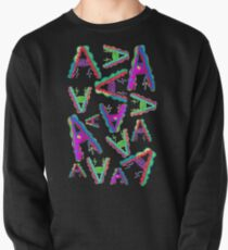 THE LETTER A - 2018- 40 DAY CHALLENGE - HAND DRAWN - GRAHIC ALPHABET  Pullover