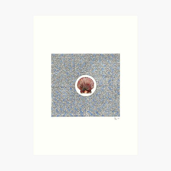 Die Muschel - Shell Kunstdruck