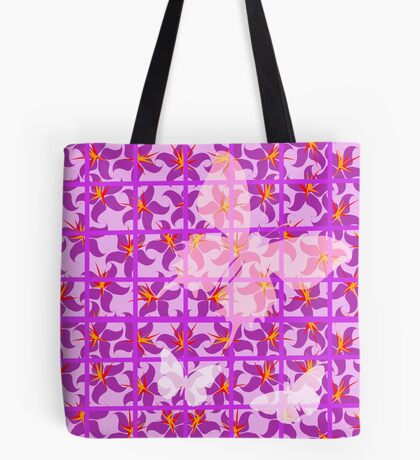 Butterfly Trellis ... Tote Bag