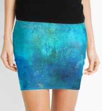 Deep Sea Dreaming  Mini Skirt