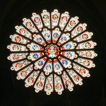 Durham Cathedral Rose Window by JohnDalkin