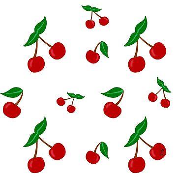 Wild Cherry pattern by rainbowcho