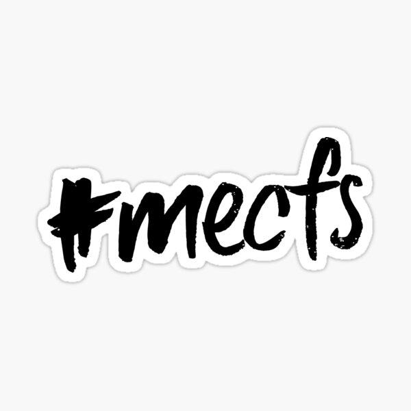 ME/CFS: #mecfs Sticker