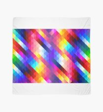 Abstract Diamond Graphic Pattern Scarf